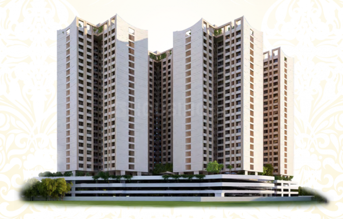 Building Image of 1341 Sq.ft 3 BHK Apartment for rent in Mira Road East for 28000