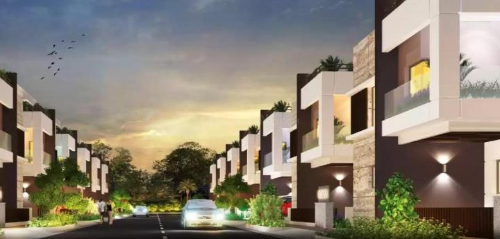 Brochure Image of 2200 Sq.ft 2 BHK Independent House for buy in Alpine Square, Patancheru for 9400000