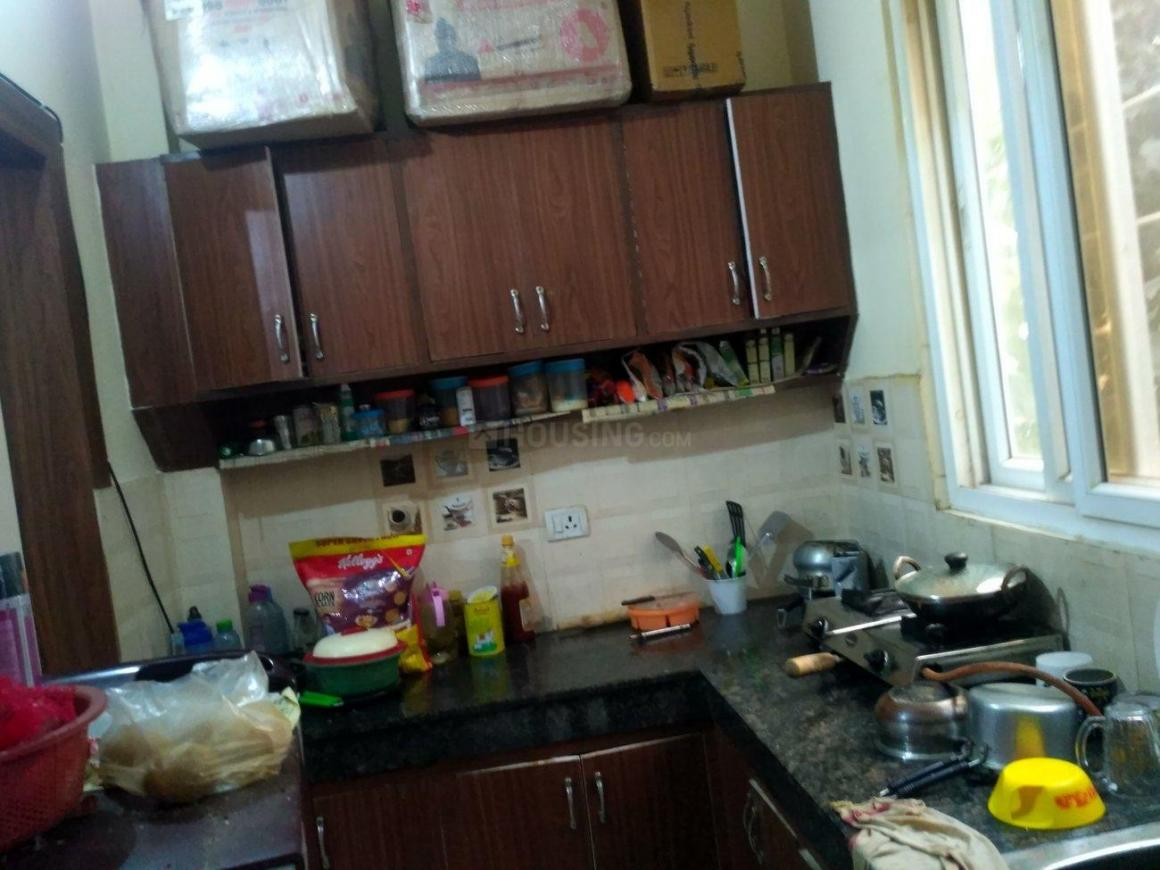 Kitchen Image of 560 Sq.ft 1 BHK Independent Floor for rent in Sector 55 for 18000