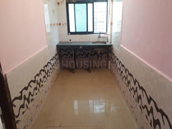 Kitchen Image of 550 Sq.ft 1 BHK Apartment for rent in Nerul for 11000