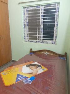 Gallery Cover Image of 700 Sq.ft 1 BHK Apartment for rent in Hallmark Manikonda, Puppalaguda for 12500