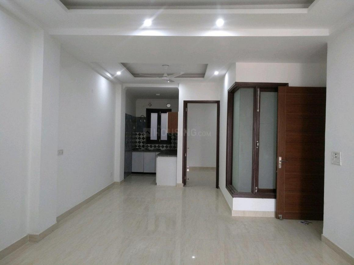 Living Room Image of 1300 Sq.ft 3 BHK Independent Floor for rent in Chhattarpur for 17000