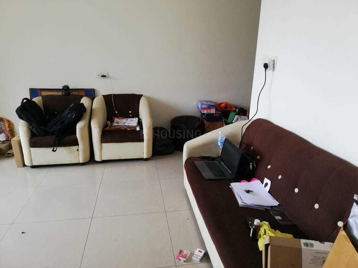 Living Room Image of 640 Sq.ft 1 BHK Apartment for rent in Hadapsar for 20000