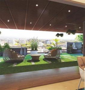Terrace Image of 2563 Sq.ft 4 BHK Apartment for buy in Vasavi Usharam Integra, Toli Chowki for 20000000