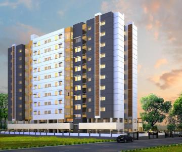 Gallery Cover Image of 590 Sq.ft 1 BHK Apartment for buy in Kiran Samruddhi A, Sus for 4600000