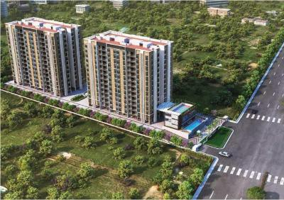 Gallery Cover Image of 1203 Sq.ft 2 BHK Apartment for buy in Pride Pegasus, Visthar for 6616500