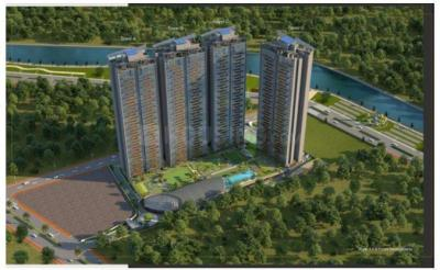 Gallery Cover Image of 1525 Sq.ft 3 BHK Apartment for buy in Kasturi The Balmoral Riverside, Baner for 19200000