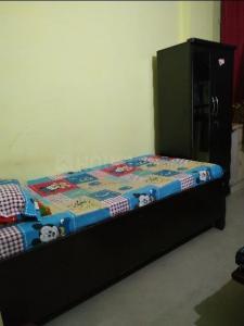 उत्तम नगर में आइकोनिक पीजी के बेडरूम की तस्वीर
