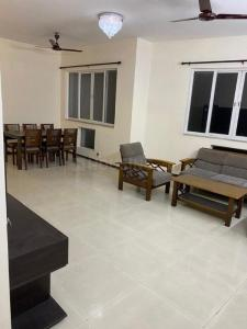 Gallery Cover Image of 1800 Sq.ft 3 BHK Apartment for rent in Uniworld City Frisco, New Town for 30000