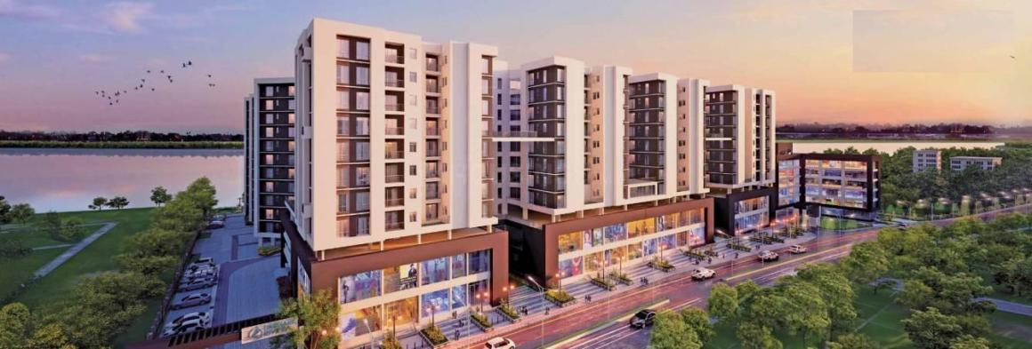 Building Image of 1008 Sq.ft 2 BHK Apartment for buy in Unimark Riviera, Uttarpara for 3650000