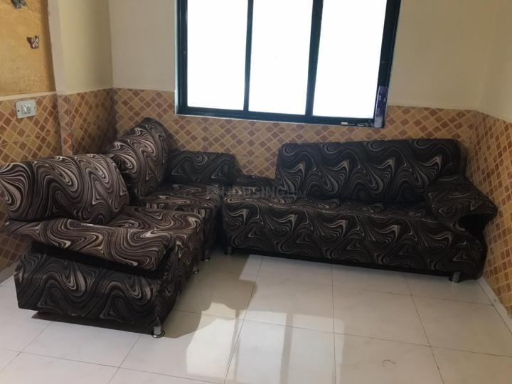 Living Room Image of 596 Sq.ft 1 BHK Apartment for rent in Greater Khanda for 10000