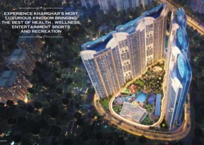 Gallery Cover Image of 1275 Sq.ft 2 BHK Apartment for buy in Paradise Sai World Empire, Kharghar for 13000000