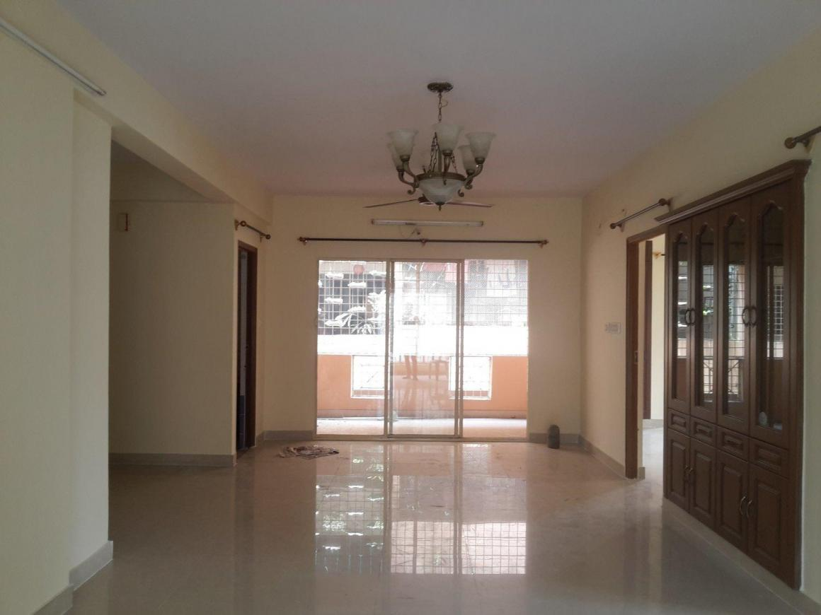 Living Room Image of 1400 Sq.ft 3 BHK Apartment for rent in Banashankari for 25000