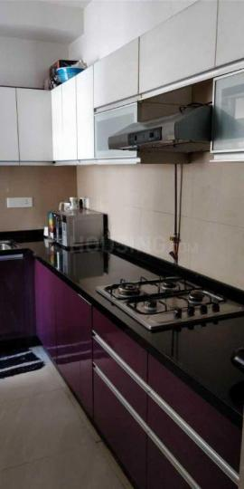 Kitchen Image of 950 Sq.ft 2 BHK Apartment for rent in Kurla West for 41500