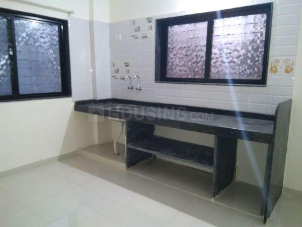Kitchen Image of 689 Sq.ft 1 BHK Apartment for rent in Chandan Nagar for 12000