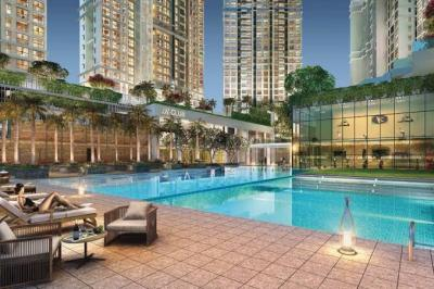 Gallery Cover Image of 1126 Sq.ft 2 BHK Apartment for buy in Kalpataru Elegante, Kandivali East for 15610000