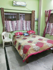 Bedroom Image of 850 Sq.ft 2 BHK Apartment for rent in Bhowanipore for 9990
