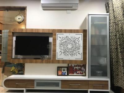 Gallery Cover Image of 1800 Sq.ft 3 BHK Apartment for rent in Shaligram Garden residency 3, Bopal for 30000