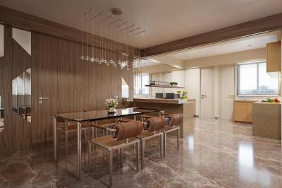 Dining Area Image of 3715 Sq.ft 4 BHK Apartment for buy in The Indus, Bodakdev for 31700000