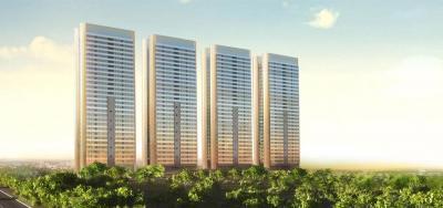 Gallery Cover Image of 1384 Sq.ft 3 BHK Apartment for buy in Godrej Platinum, Vikhroli East for 56600000