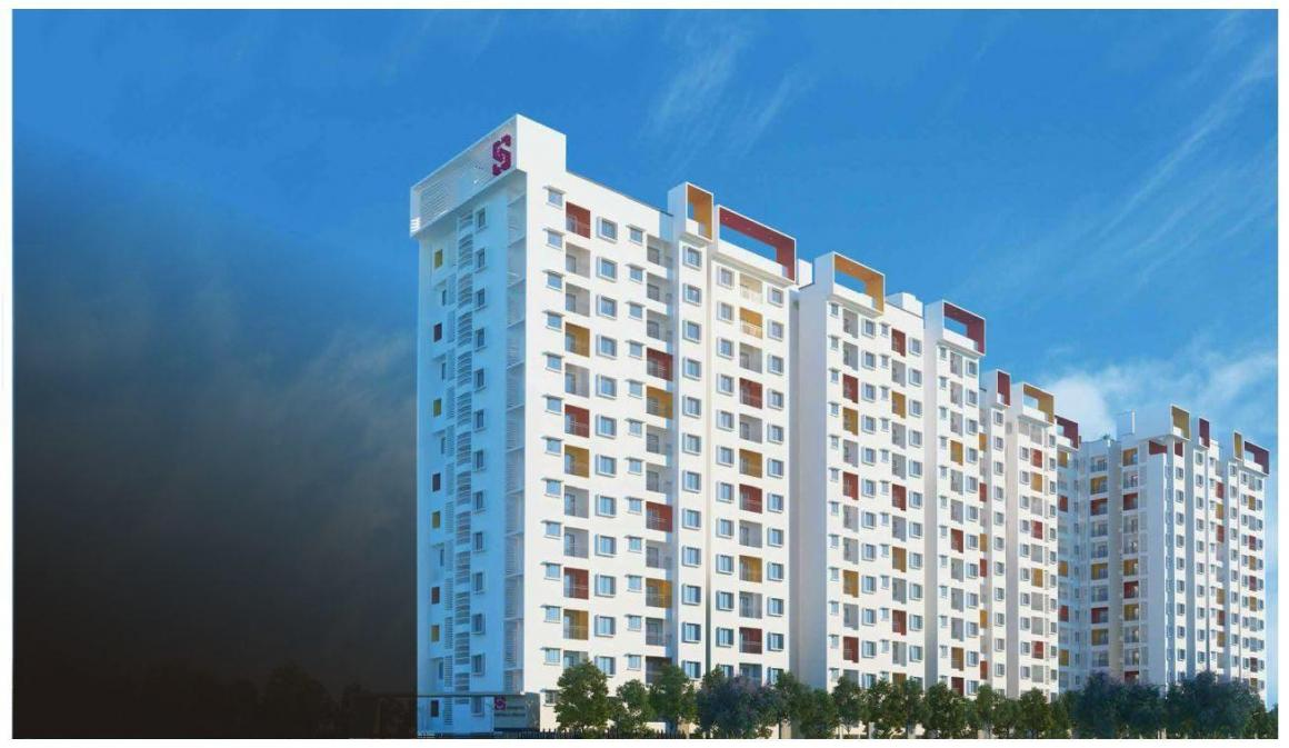 Building Image of 1480 Sq.ft 3 BHK Apartment for buy in Bommasandra for 5924000