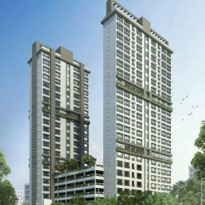 Gallery Cover Image of 947 Sq.ft 2 BHK Apartment for buy in Malad West for 17500000