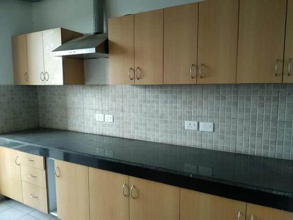 Kitchen Image of 1821 Sq.ft 3 BHK Apartment for rent in Godrej Frontier, Sector 80 for 20000