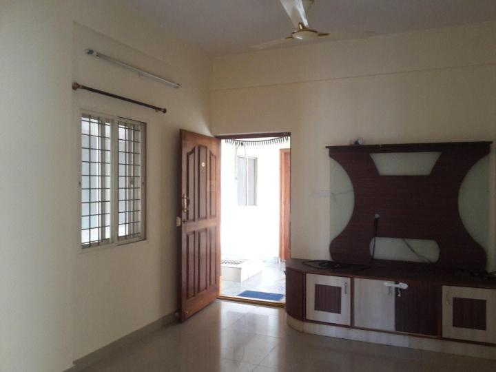 Living Room Image of 1100 Sq.ft 2 BHK Apartment for rent in Murugeshpalya for 25000