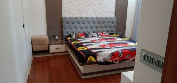 Bedroom Image of 600 Sq.ft 1 BHK Apartment for rent in Magarpatta City for 22000