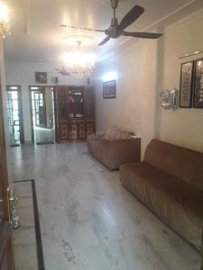 Gallery Cover Image of 1200 Sq.ft 3 BHK Independent Floor for rent in  Vikram Vihar Residents Association, Lajpat Nagar for 45000