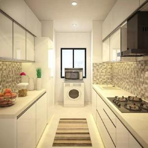 Kitchen Image of 996 Sq.ft 3 BHK Apartment for buy in Atmosphere O2, Mulund West for 27000000