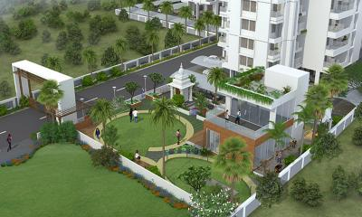 Gallery Cover Image of 1055 Sq.ft 2 BHK Apartment for buy in Golecha Ethos, Tathawade for 7700000