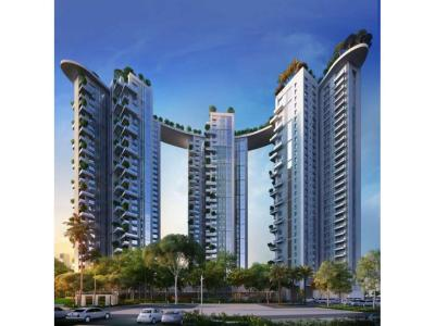 Gallery Cover Image of 1695 Sq.ft 3 BHK Apartment for buy in Siddha Sky, Beliaghata for 11187000