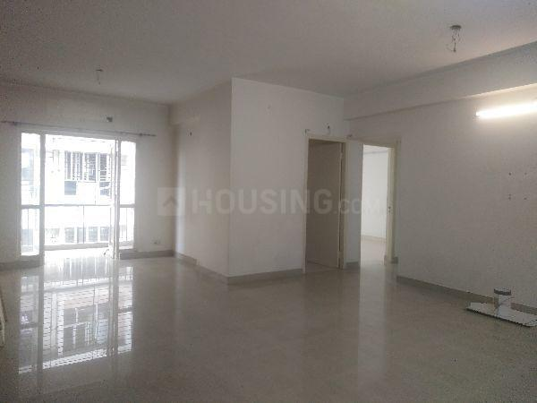 Living Room Image of 1528 Sq.ft 3 BHK Apartment for rent in Space Club Town Greens, Belghoria for 19000