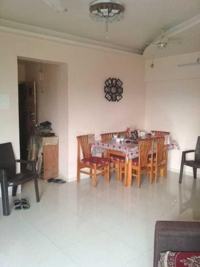 Living Room Image of 1000 Sq.ft 2 BHK Apartment for rent in Belapur CBD for 40000