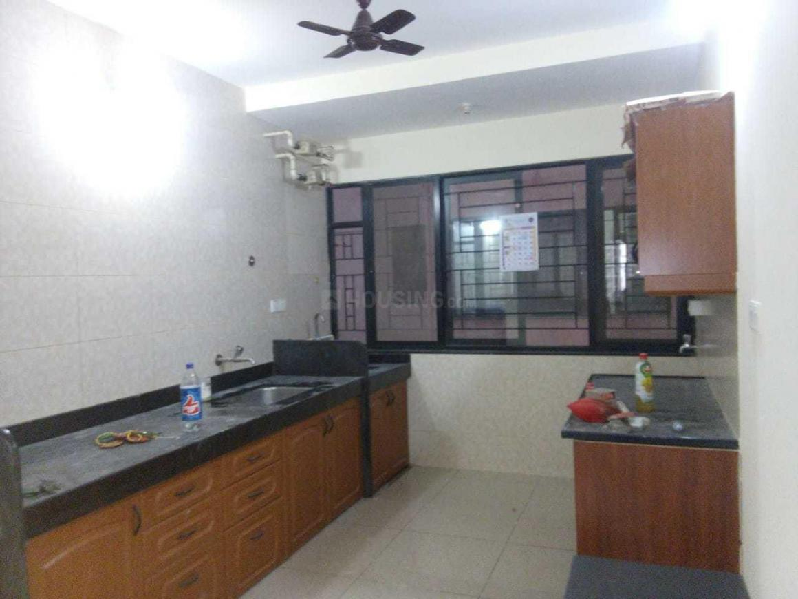 Kitchen Image of 972 Sq.ft 2 BHK Apartment for rent in Nanded for 12500