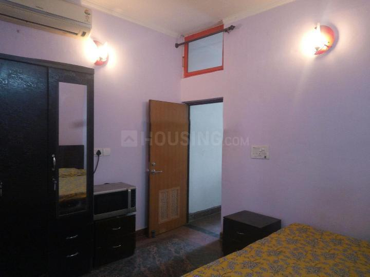 Bedroom Image of 570 Sq.ft 1 BHK Independent Floor for rent in Sector 56 for 16500
