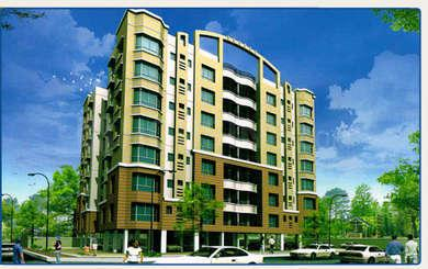 Gallery Cover Image of 1547 Sq.ft 3 BHK Apartment for buy in Liberty Uttam Tower, Ultadanga for 12200000