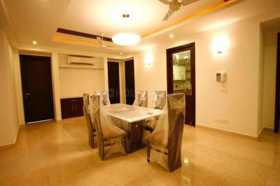 Gallery Cover Image of 2000 Sq.ft 4 BHK Independent Floor for rent in Green Park for 160000