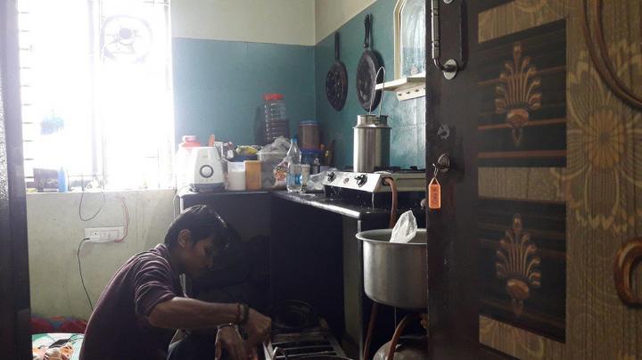 Kitchen Image of Sri Sai Ram PG in Electronic City Phase II