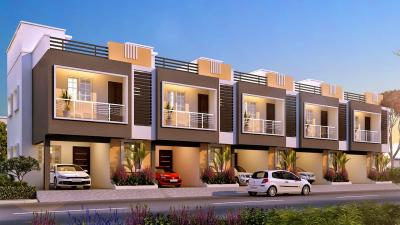 Gallery Cover Image of 1357 Sq.ft 3 BHK Independent House for buy in Greenpro Astrantia Villas, Thandalam for 5850000