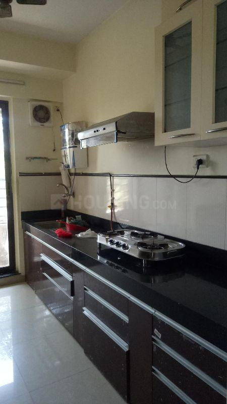 Kitchen Image of 1235 Sq.ft 3 BHK Apartment for rent in Mira Road East for 30000