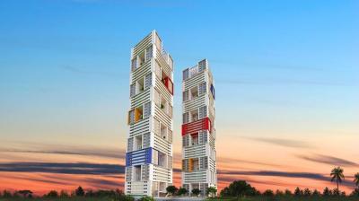 Gallery Cover Image of 780 Sq.ft 1 BHK Apartment for buy in Adhiraj Samyama, Rohinjan for 5500000