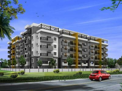 Gallery Cover Image of 1000 Sq.ft 2 BHK Apartment for buy in  Narayana E Golden Abode, Electronic City for 5000000