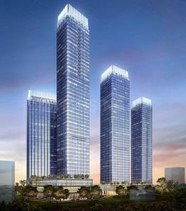 Gallery Cover Image of 1800 Sq.ft 3 BHK Apartment for rent in Indiabulls Blu Tower A, Worli for 300000