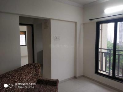 Gallery Cover Image of 557 Sq.ft 1 BHK Apartment for rent in Kasarvadavali, Thane West for 11000