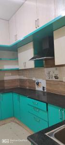 Kitchen Image of 1618 Sq.ft 3 BHK Apartment for rent in Saibya Sterling, Muneshwara Nagar for 34000