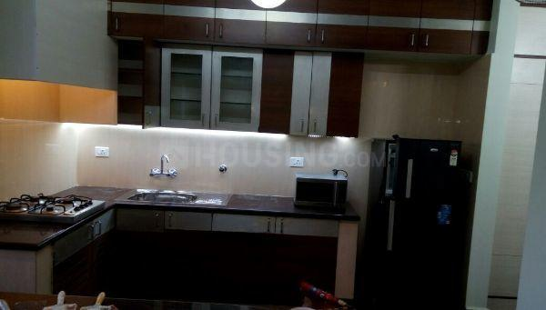 Kitchen Image of 1250 Sq.ft 2 BHK Apartment for rent in Vanagaram  for 38000