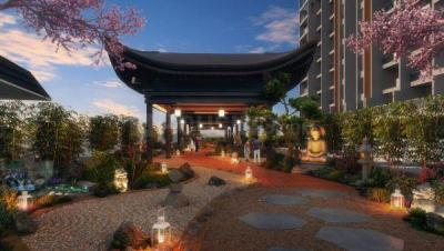 Gallery Cover Image of 1324 Sq.ft 3 BHK Apartment for buy in Majestique Towers East, Kharadi for 8650000