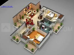 Gallery Cover Image of 960 Sq.ft 2 BHK Independent Floor for buy in Race Course for 6500000
